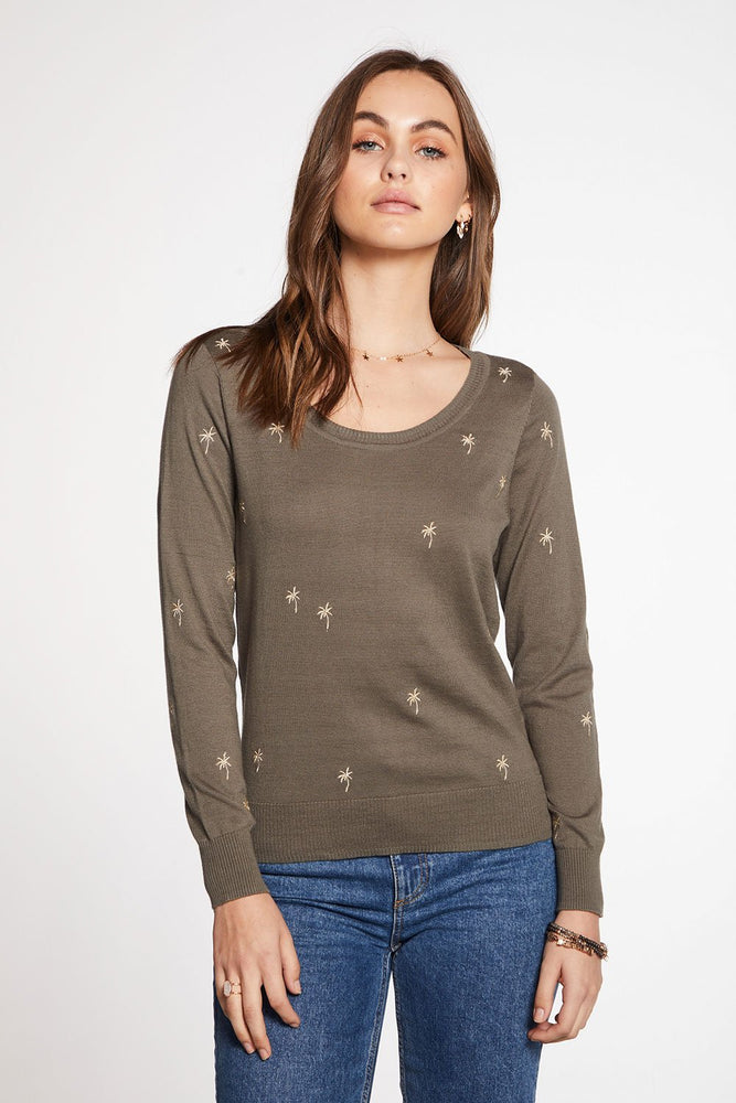 Load image into Gallery viewer, Cotton Cashmere Crew Neck Pullover
