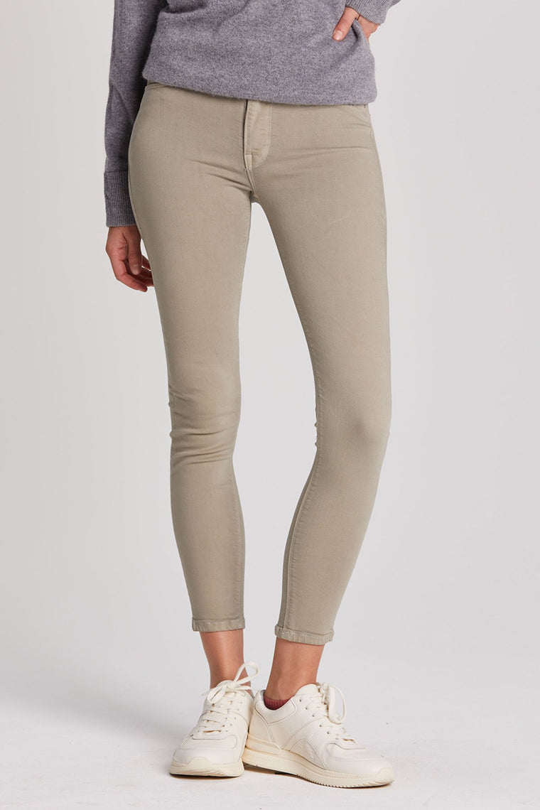 Barbara High Rise Skinny Crop Jeans