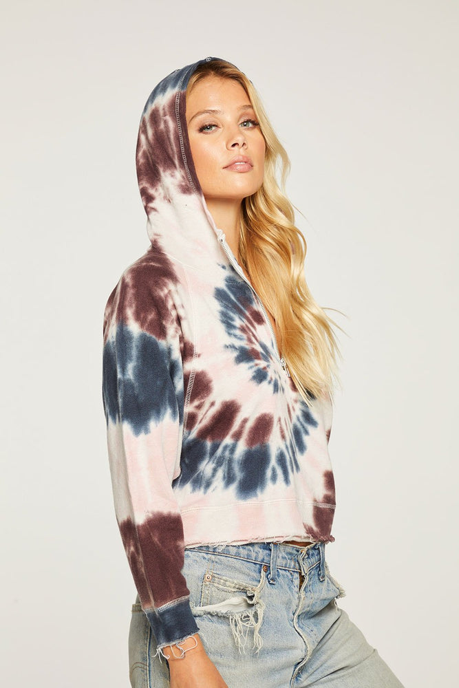 Load image into Gallery viewer, Linen French Terry Batwing Pullover Hoodie