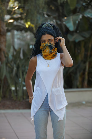 Load image into Gallery viewer, Cali Wrap Mask / Neck Scarf