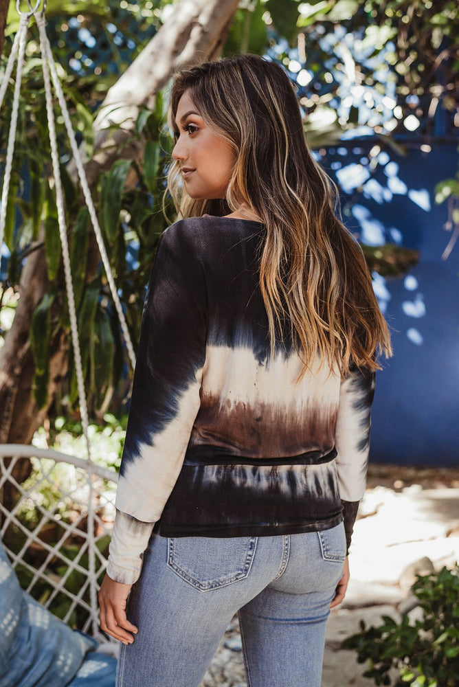 Load image into Gallery viewer, Tie Dye Off the Shoulder Dolman Top