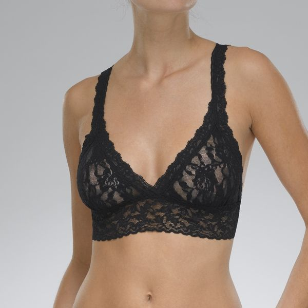 Sig Lace Crossover Bralette