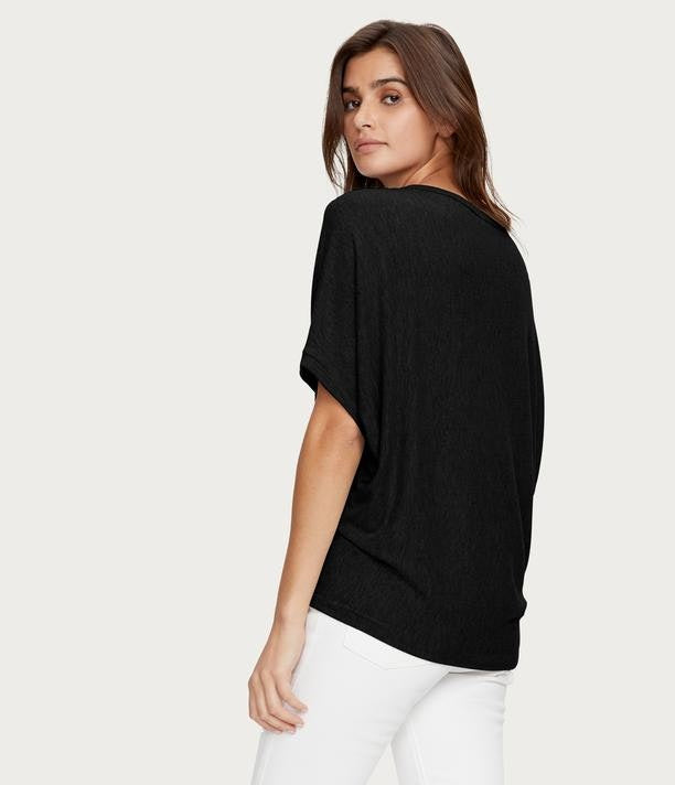 Load image into Gallery viewer, Madison Brushed Jersey Boatneck Top