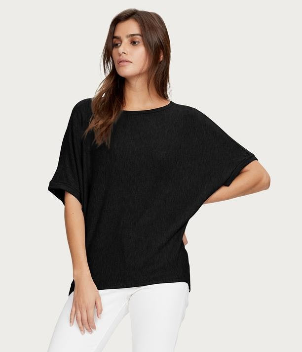 Madison Brushed Jersey Boatneck Top