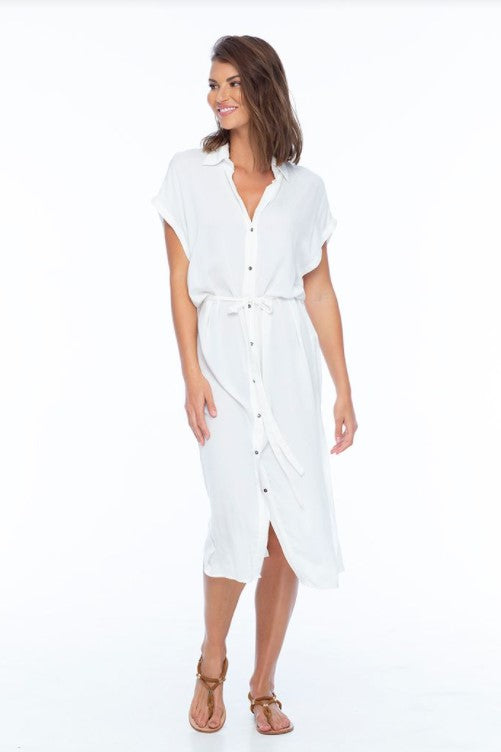 Element Button Front Shirt Dress