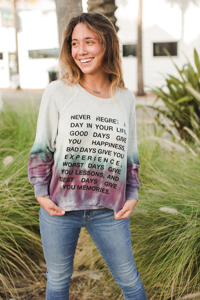 NEVER REGRET - The Emerson Pullover