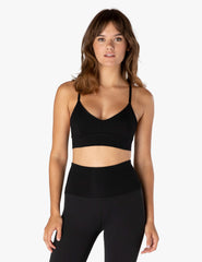 Heather Rib Go To Bralette