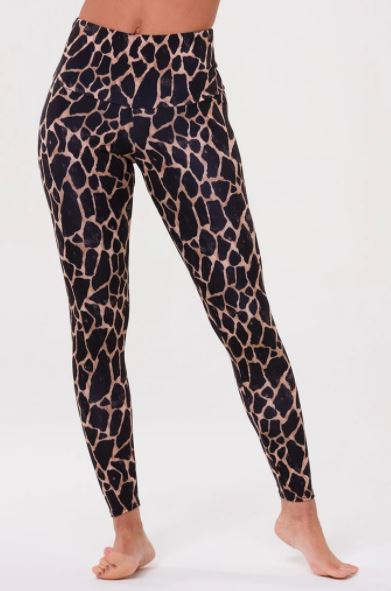 Load image into Gallery viewer, High Rise Legging - Giraffe