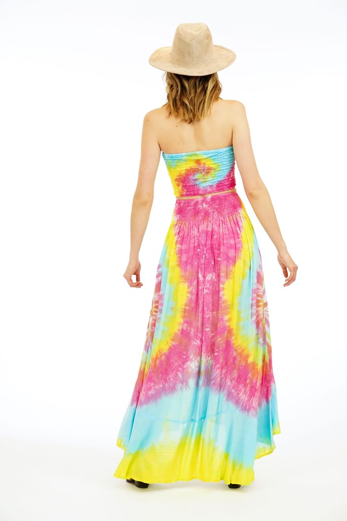 The Dakota Maxi Skirt - Rainbow