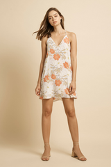 Tanner Slip Mini Dress - Botanical