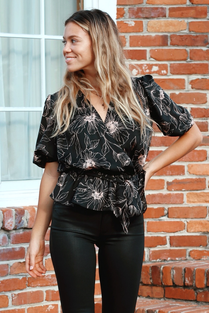 Floral Macie Blouse by Joie - Jaffi's