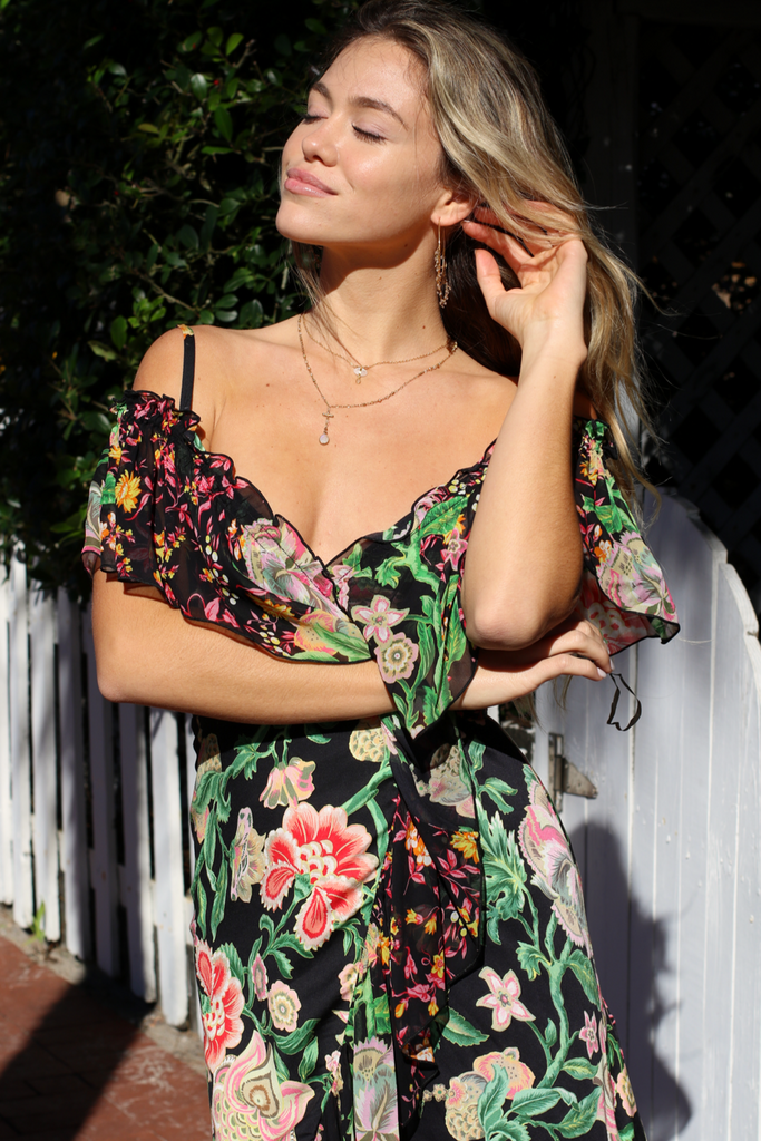 The Arianne Off The Shoulder Dress