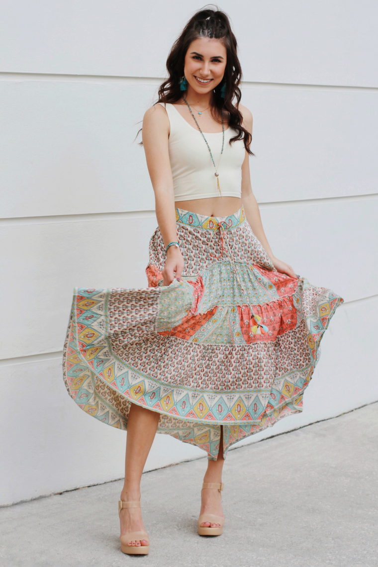 The Dancing Queen Maxi Skirt