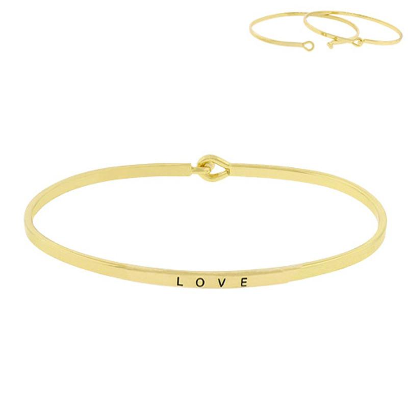 LOVE Inspirational Message Bracelet - Jaffi's