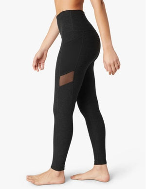 Load image into Gallery viewer, Mesh With It High Waist Midi Legging - Darkest Night