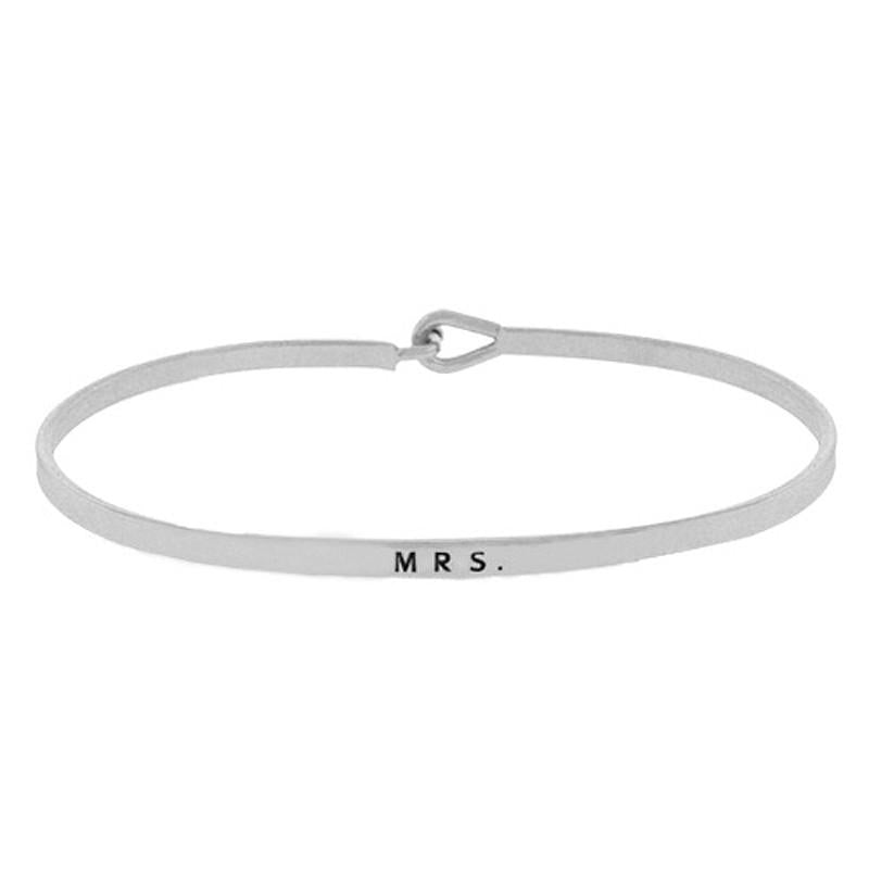 Load image into Gallery viewer, MRS. Inspirational Message Bracelet - Jaffi's