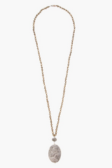 The Pyrite Mix Pendant Necklace