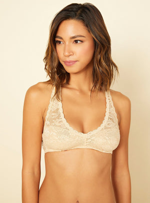 Load image into Gallery viewer, Racie Racerback Bra - Blush