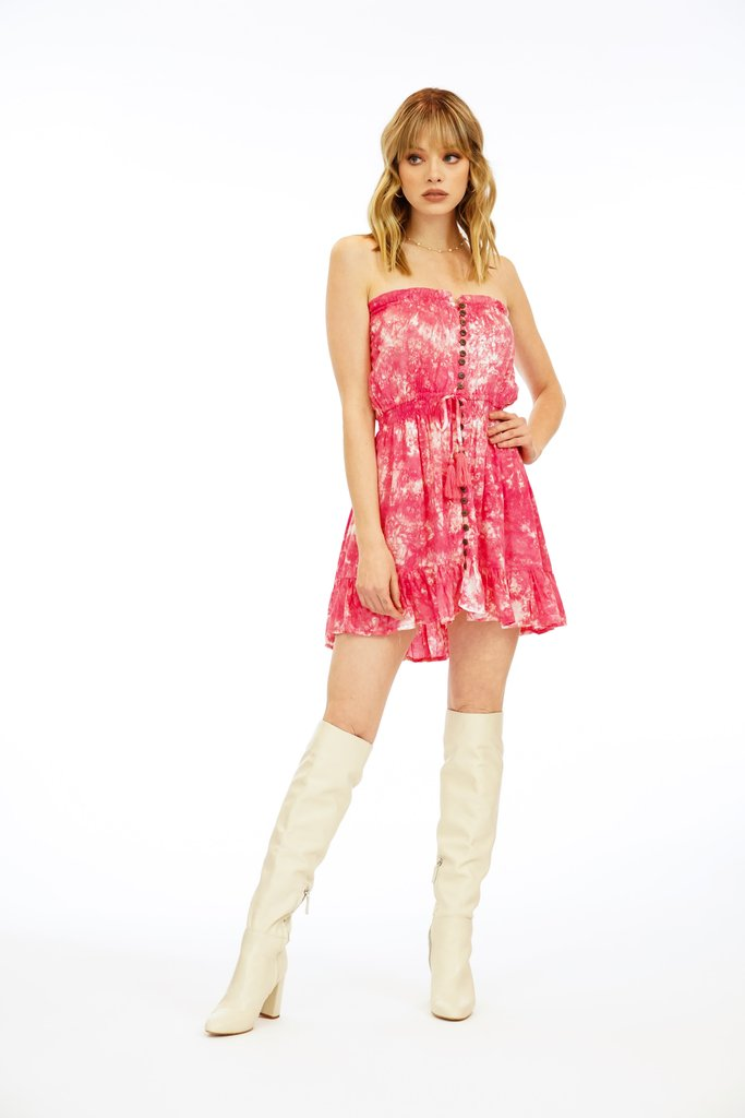The Ryden Short Dress - Pink
