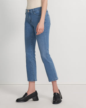 Load image into Gallery viewer, Selena Mid Rise Crop Boot - Vivacious Full Pant View