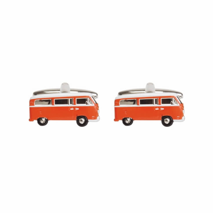 Camper Van Novelty Cufflinks