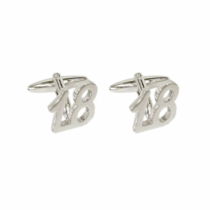 18th Special Occasion Cufflinks