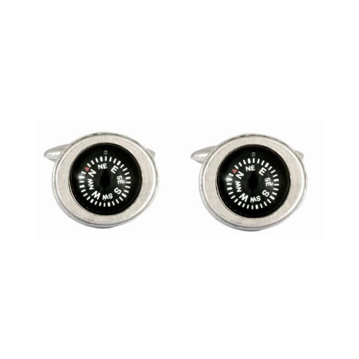 Compass Novelty Cufflinks