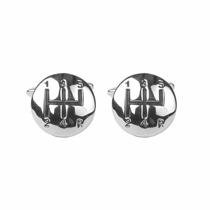 Car Gear Stick Cufflinks
