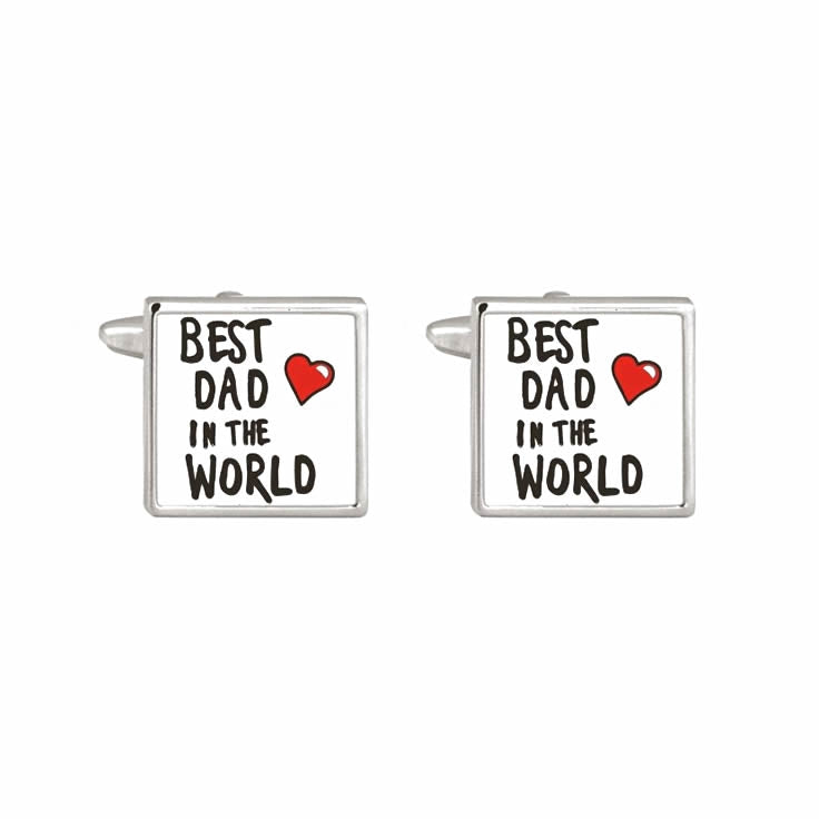 BEST DAD Special Occasion Cufflinks