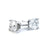 Round 4 Claw Solitaire Diamond Earrings - BDJ1005