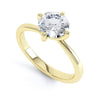 4 Twist Claw Diamond Solitaire Ring - BK1009