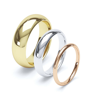 Paris Wedding Ring - BKW1006