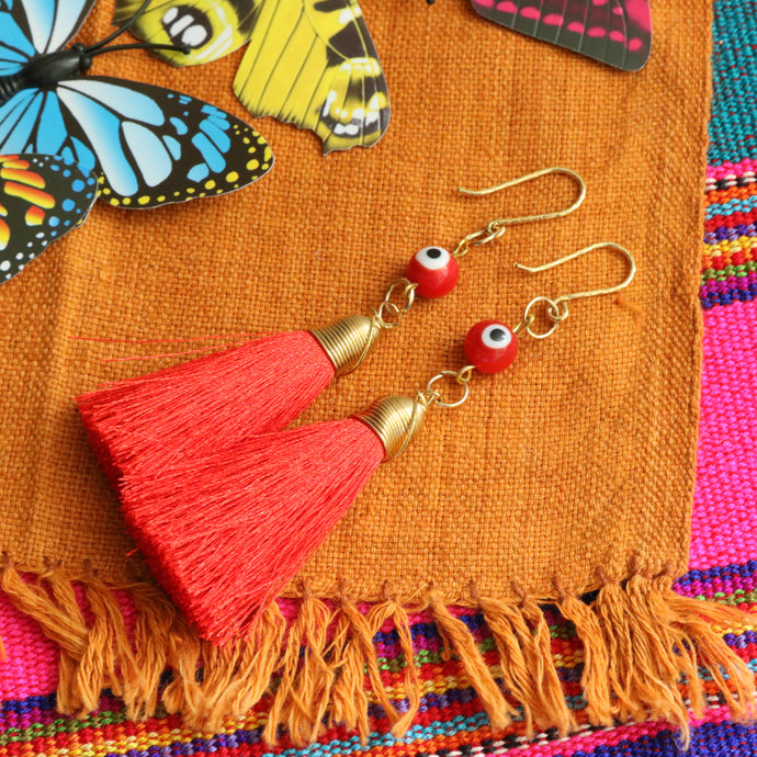 No. 122 | Tassel Earring Set