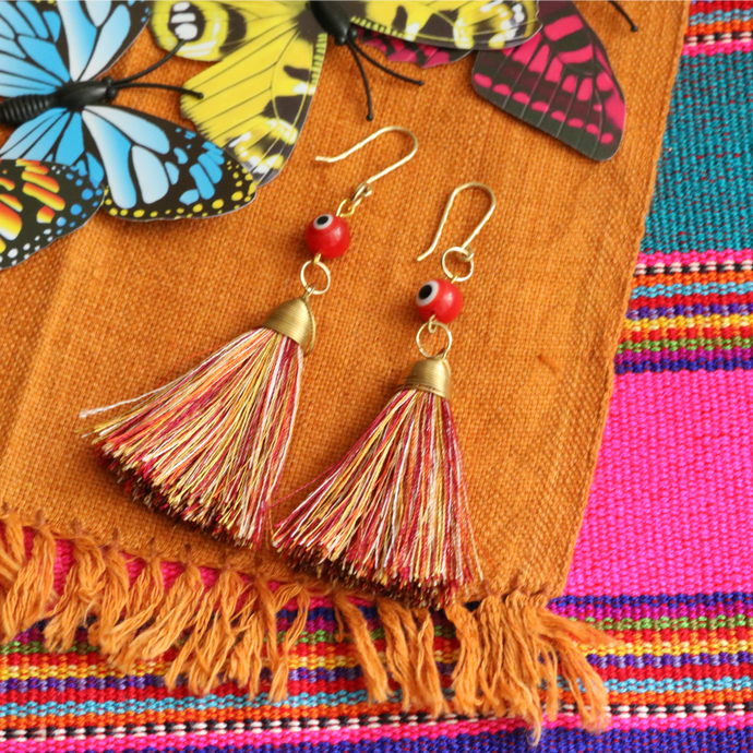 No. 123 | Tassel Earring Set