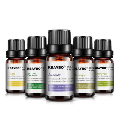 Kbaybo 6 Pack Essential Oil Set-Zenvea