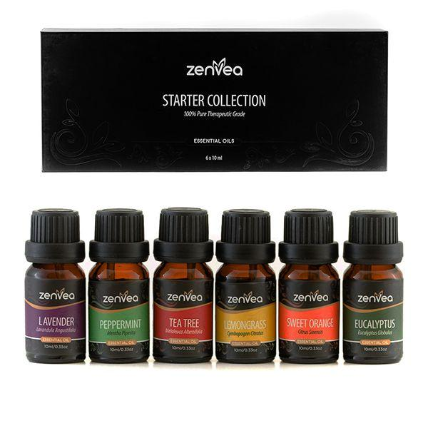 Zenvea 6 Pack Essential Oil Set-Zenvea