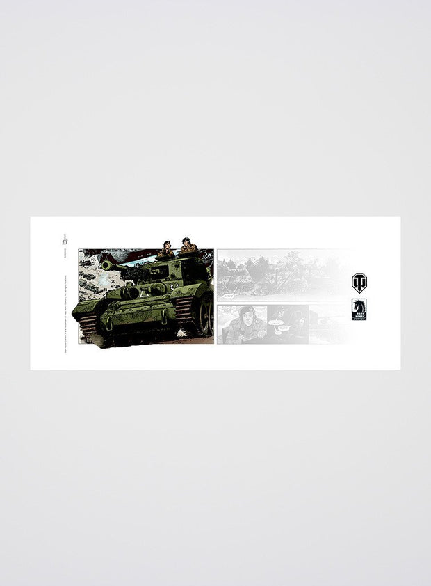 World of Tanks Comic Mug