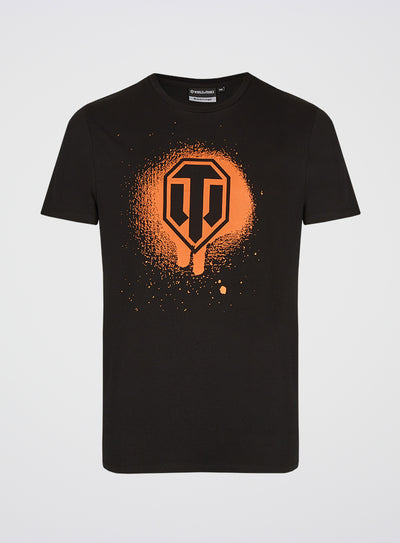 World of Tanks Sprayed Shield T-shirt