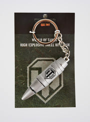 World of Tanks High Explosive Shell Keyring