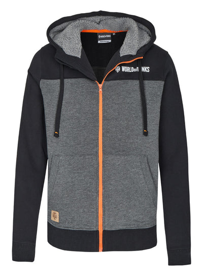 World of Tanks Zip Up Hoodie with Teddy Lining