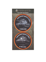 World of Tanks Velcro Patches Tiger Collection
