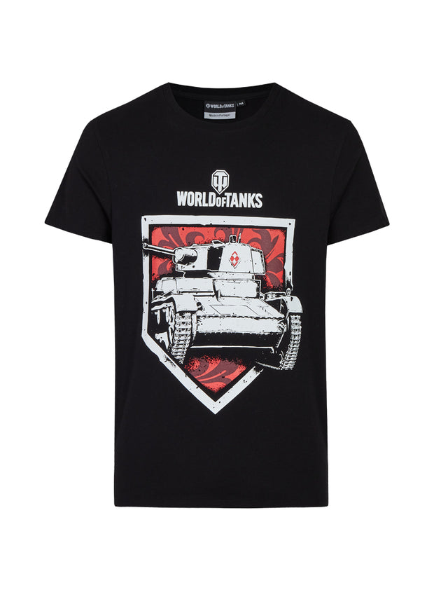 World of Tanks T-shirt 7TP Shield