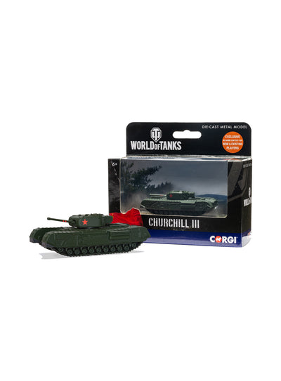 World of Tanks diecast model Churchill Mk.III  Tank 1:72