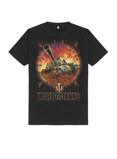 World of Tanks T-shirt Born to roll