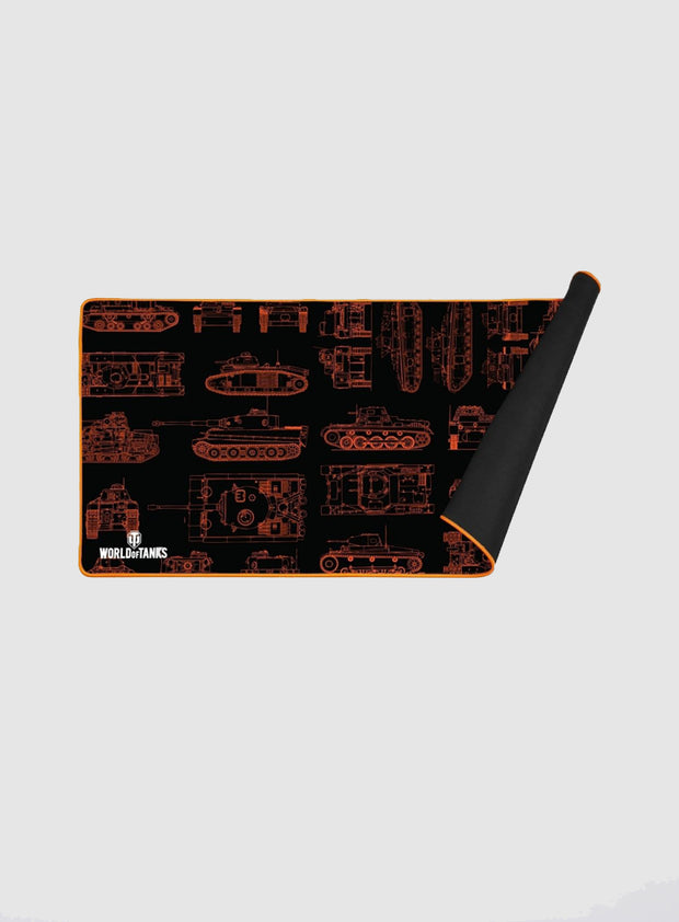 World of Tanks KONIX MP-25 XXL Mouse Pad