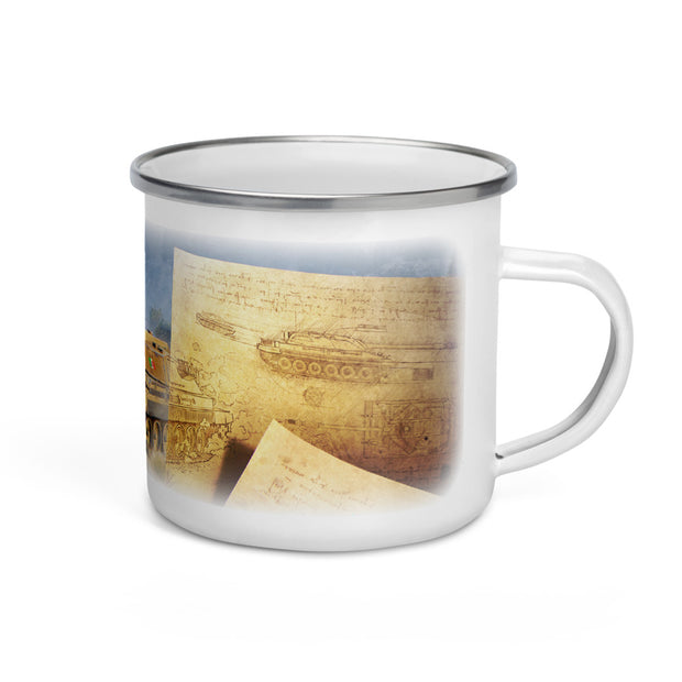 World of Tanks Enamel Mug Clan Wars Renaissance