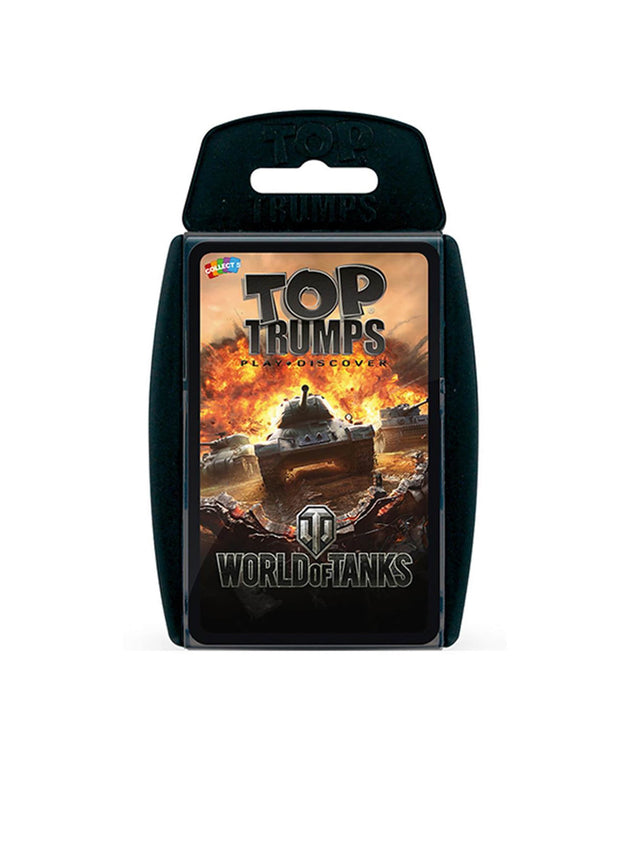 World of Tanks Top Trumps English