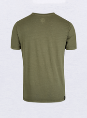 World of Tanks Logo Application T-shirt Olive