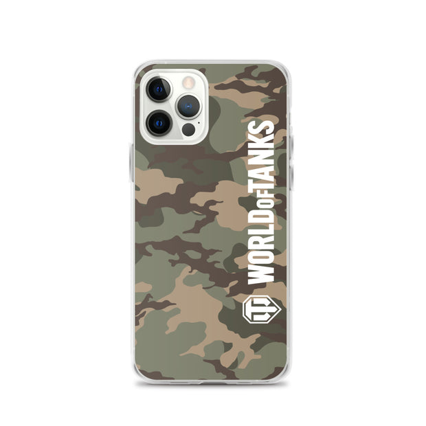 World of Tanks iPhone Case Desert Camo