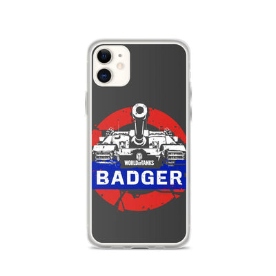World of Tanks National iPhone Case UK Badger